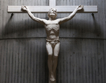 Crucifix at Church of Frescada (TV)