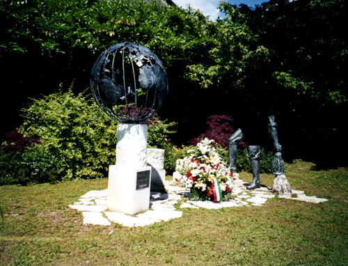 Monument to the migrant, Col San Martino (TV)